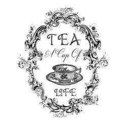 Transfer Cadence 25x35 - Tea A Cup of Life