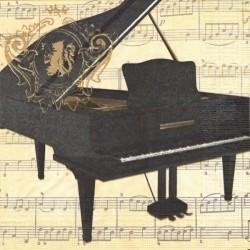 Koncertní piano 33x33