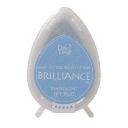 Brilliance Dew drops - Pearlescent Sky Blue