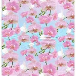 Kapesníček Růžové orchideje