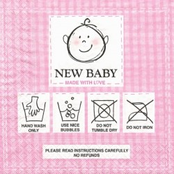 Nové dítě, růžová 33x33