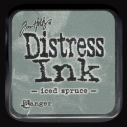 Distress Ink MINI polštářek - iced spruce
