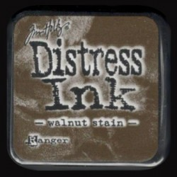 Distress Ink MINI polštářek - walnut stain