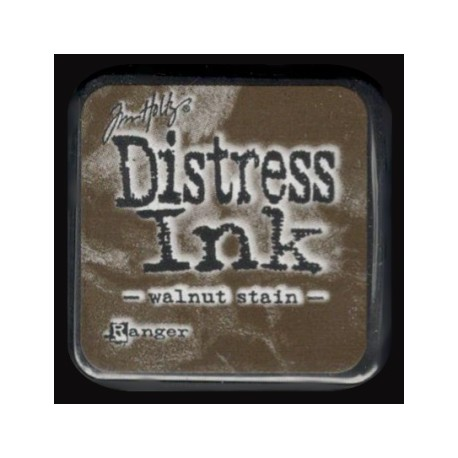 Distress Ink MINI polštářek - walnut stain