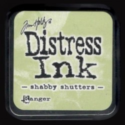 Distress Ink MINI polštářek - shabby shutters