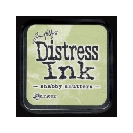 Distress Ink MINI polštářek - shabby shutters