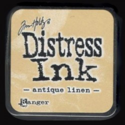 Distress Ink MINI polštářek - antique linen