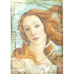 Papír rýžový A4 Botticelli, Zrození Venuše