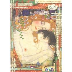 Papír rýžový A4 Klimt, Tři období života ženy