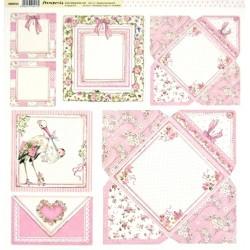 Baby Girl, obálky 30,5x30,5 scrapbook