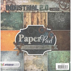 Sada papírů 15x15 Industrial 2.0, Nr.74 (SL)