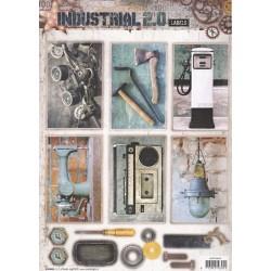 Papírové výseky A4 - Industrial 2.0, Nr.610 (SL)