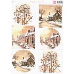 Papír Mattie's Mooiste Winter villages, A4