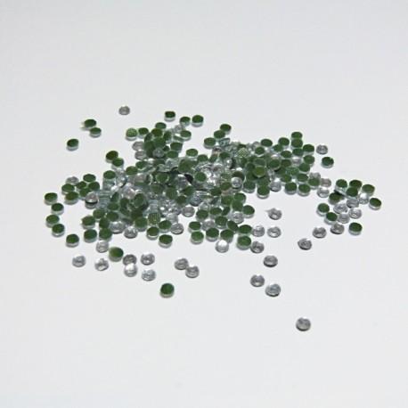 Hot- Fix kamínky transparentní 3 mm