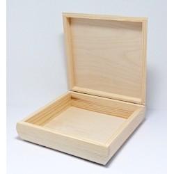 Krabička zaoblená 20x20x6