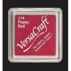 VersaCraft razítkovací polštářek - Poppy Red