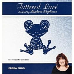 Vyřezávací šablona Tattered Lace - Žabička