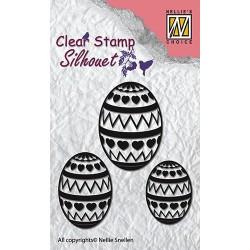 Transp.razítka Velikonoční vajíčka (Nellie´s Choice)