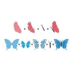 Transp.razítka 3D - Motýl (Nellie Snellen)