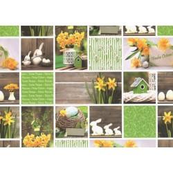 Fotokarton 300g - Velikonoce obrázky, A4