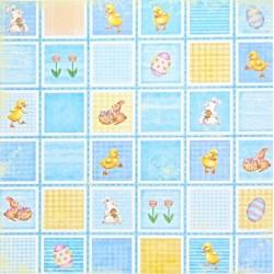 Velikonoce čtverce 30,5x30,5 designový papír (motiv17)