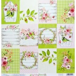 Springtime č.06 - 30,5x30,5 scrapbook (MT)