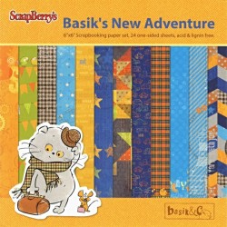 Sada papírů Basic&Ko.New Advanture 15x15