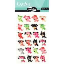 Samolepky Cooky - Pejsci