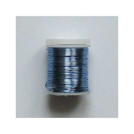 Drátek 0,8mm sv.modrý 9m