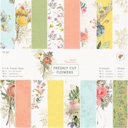 Sada papírů 15x15 Freshly Cut Flowers