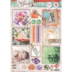 Papírové výřezy A4 - So Spring nr.604 (SL)