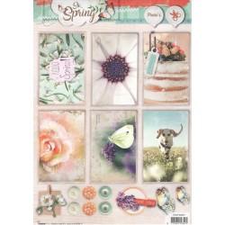 Papírové výřezy A4 - So Spring nr.601 (SL)