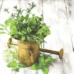 Hmoždíř s bylinkami 33x33