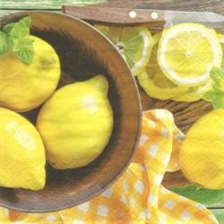 Citrony v misce 33x33