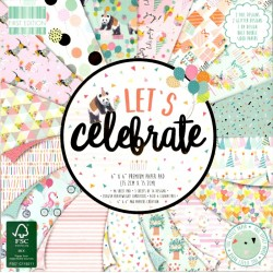 Sada papírů 15x15 Let´s Celebrate