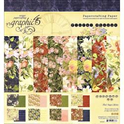Sada papírů 20x20 Floral Shoppe (Graphic45)