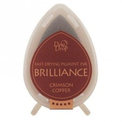 Brilliance Dew drops - Crimson copper