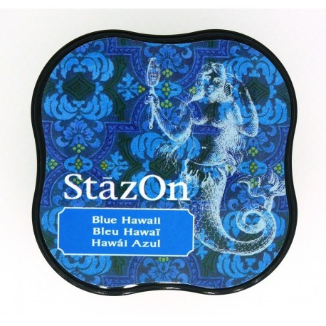 StazOn - Blue Hawaii (razítková barva)