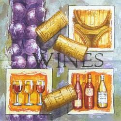 Wines 33x33