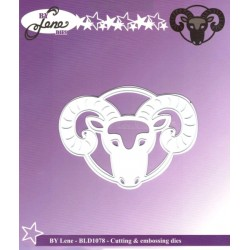 Vyřezávací šablona Horoskop - beran