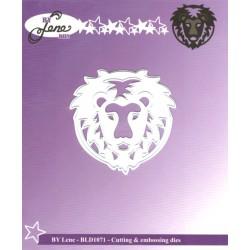 Vyřezávací šablona Horoskop - lev