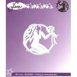 Vyřezávací šablona Horoskop - panna