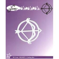 Vyřezávací šablona Horoskop - střelec