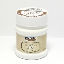 Dekor Paint Soft 230ml bílá (Pentart)