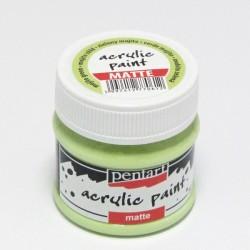 Akrylová barva Pentart 50ml - mojito zelená, matná