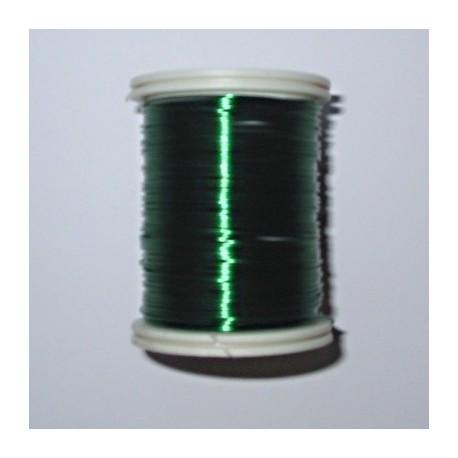 Drátek 0,6mm zelený 15m