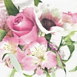 Něžné květy 33x33