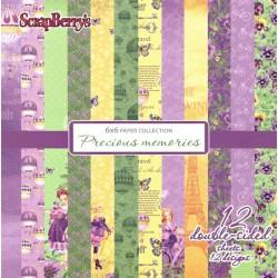 Sada papírů Precious memories 15x15