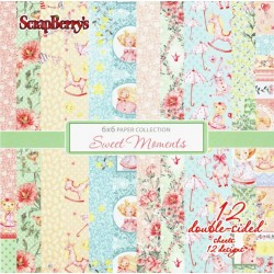Sada papírů Sweet Moments 15x15