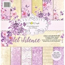 Sada papírů 30,5x30,5 Violet Silence + bonus